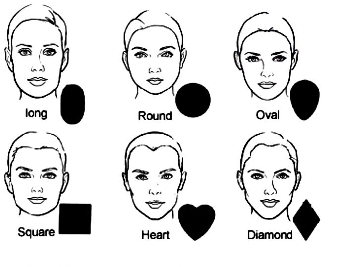Eyebrows for Square Faces