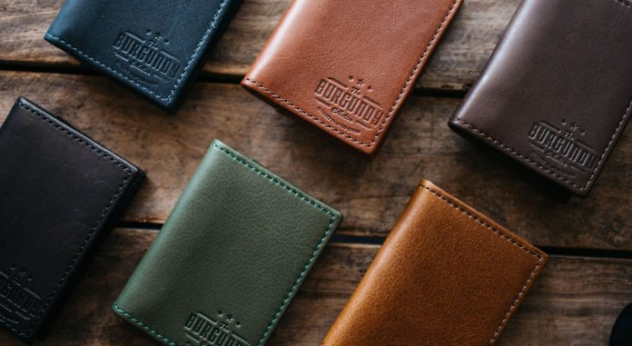The image shows a range of best mens wallet brands