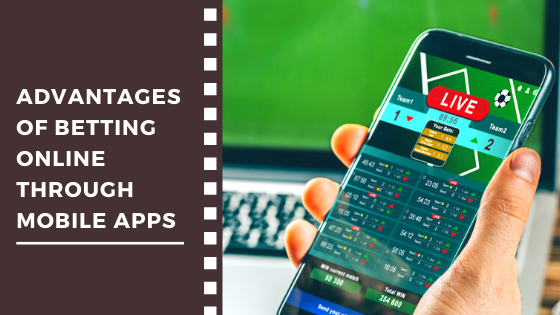 Betting Online Through Mobile Apps
