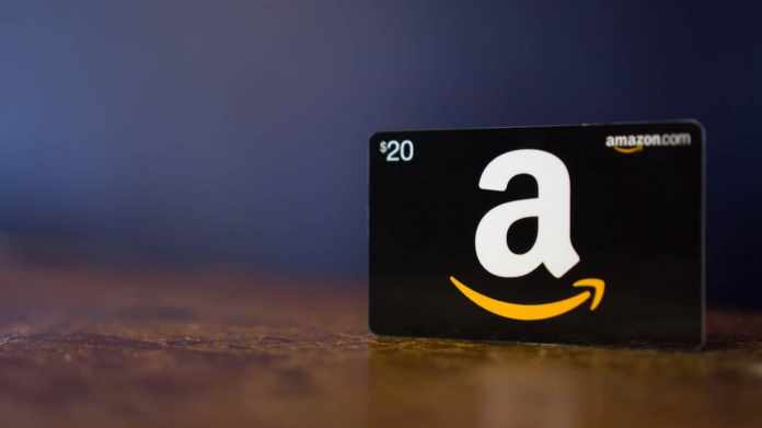 how to use Visa gift card on amazon