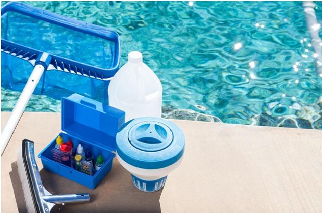 pool chemicals test kit